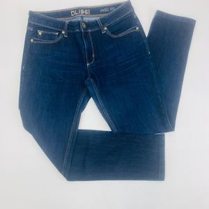 DL1961 Womens Jeans 29 Blue Angel Mid Rise Skinny